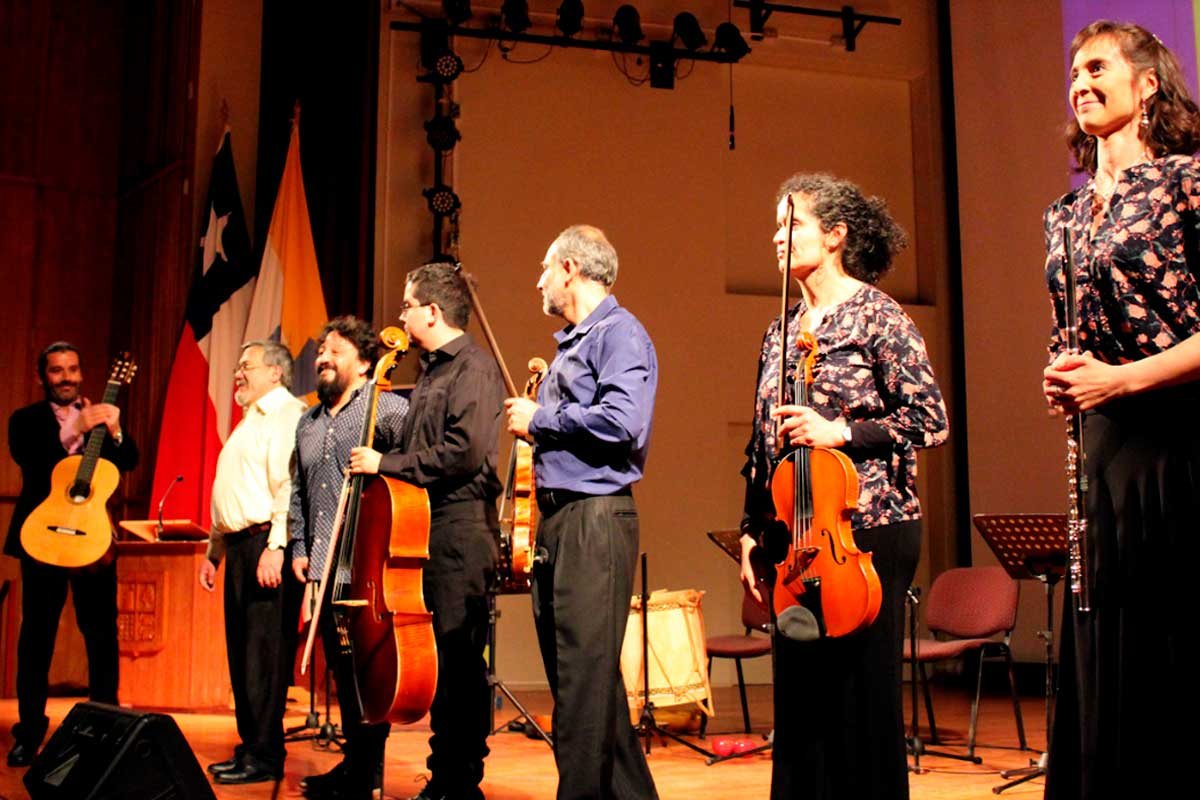 Sindicato de Docentes realizó conciertos de música latinoamericana en todas las sedes de la UACh