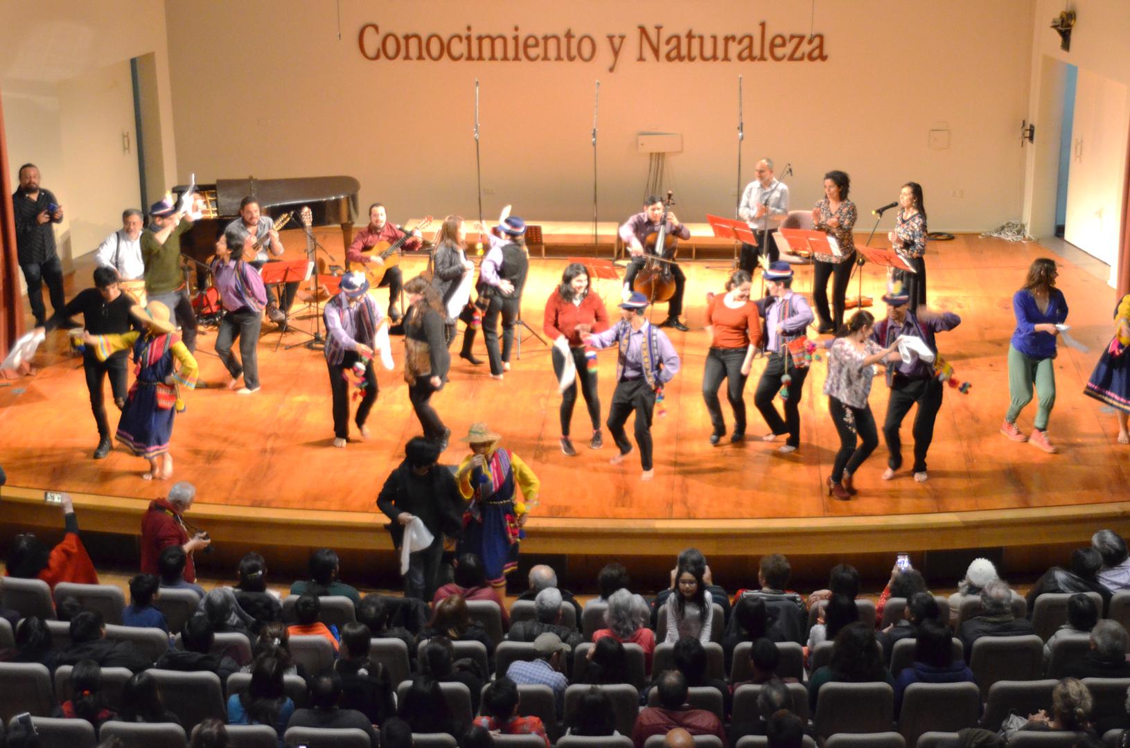 """Con gran participación finalizó la serie de conciertos """"Los Docentes cantan a Víctor"""""""