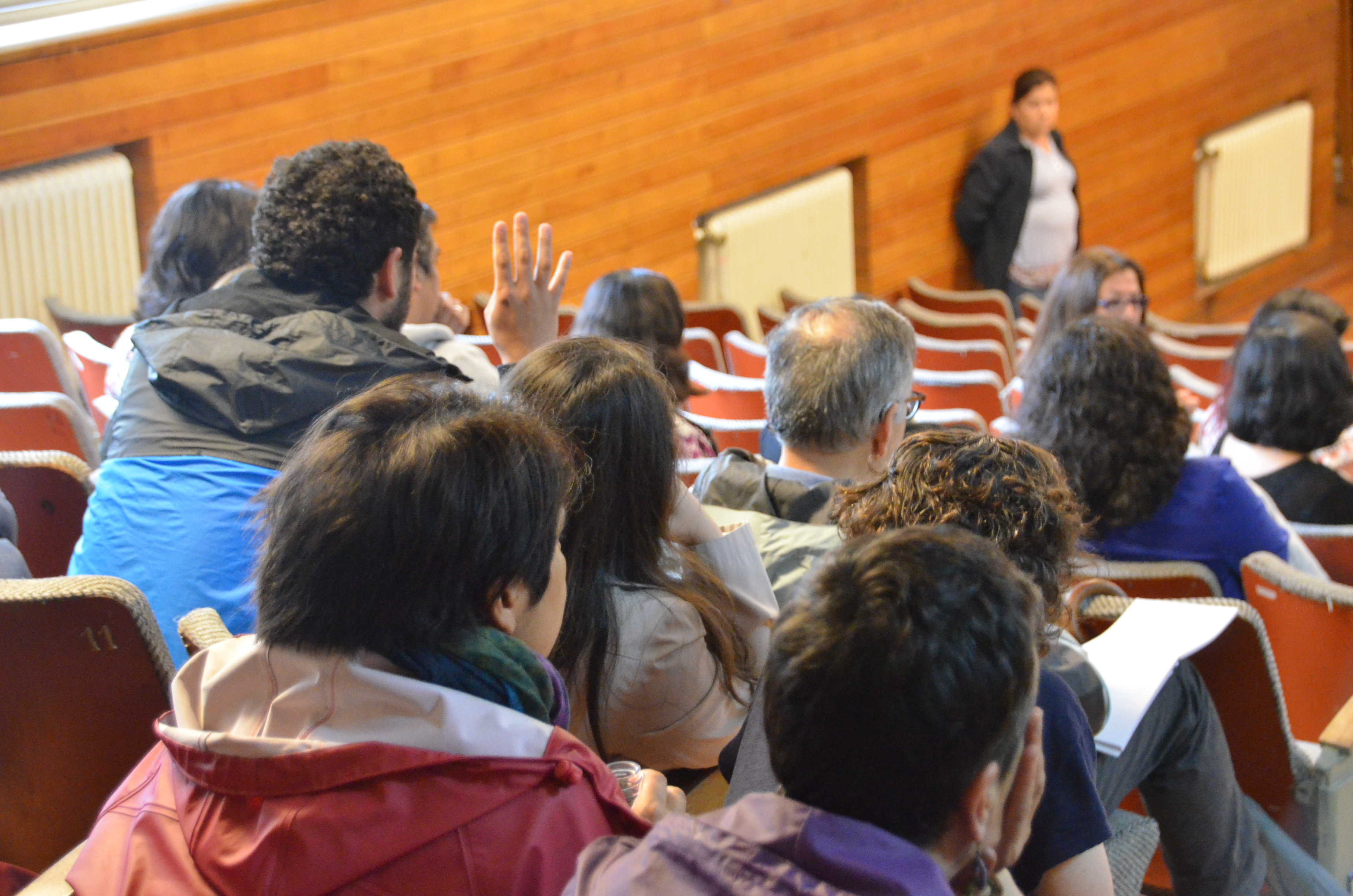Esta mañana se realizó una nueva Asamblea General del Sindicato de Docentes de la UACh.
