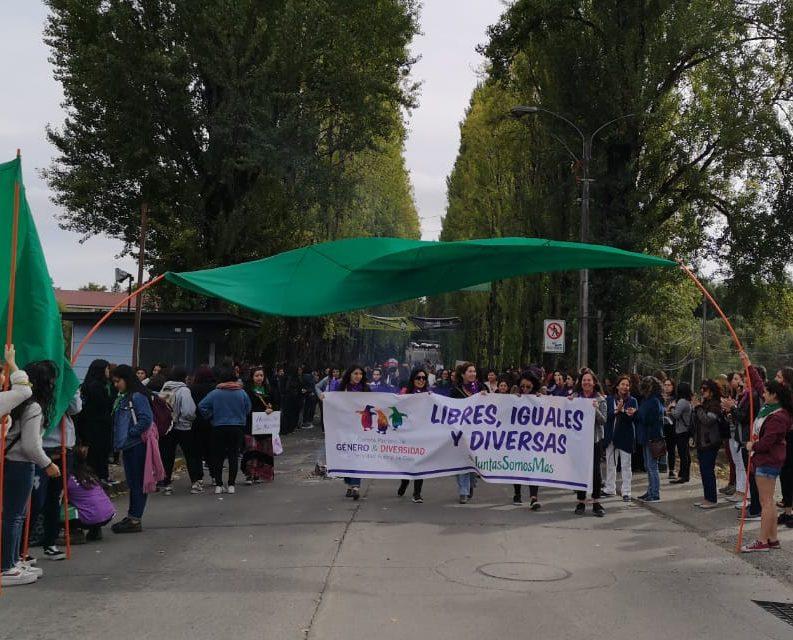 Llamado de nuestra presidenta, Claudia Letelier Velásquez, a participar de la marcha de esta tarde en Valdivia.