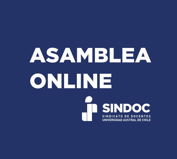 Asamblea Extraordinaria online: viernes 22 de enero 2021.
