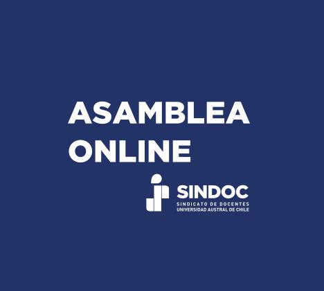 Asamblea Extraordinaria Online: lunes 22 de marzo 2021.