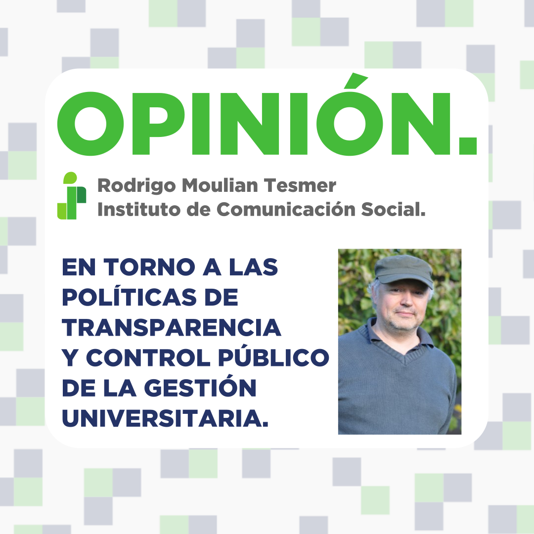 Opinión de Rodrigo Moulian Tesmer.