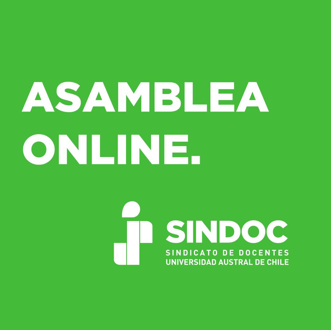 Asamblea Online (jueves 30 de julio).