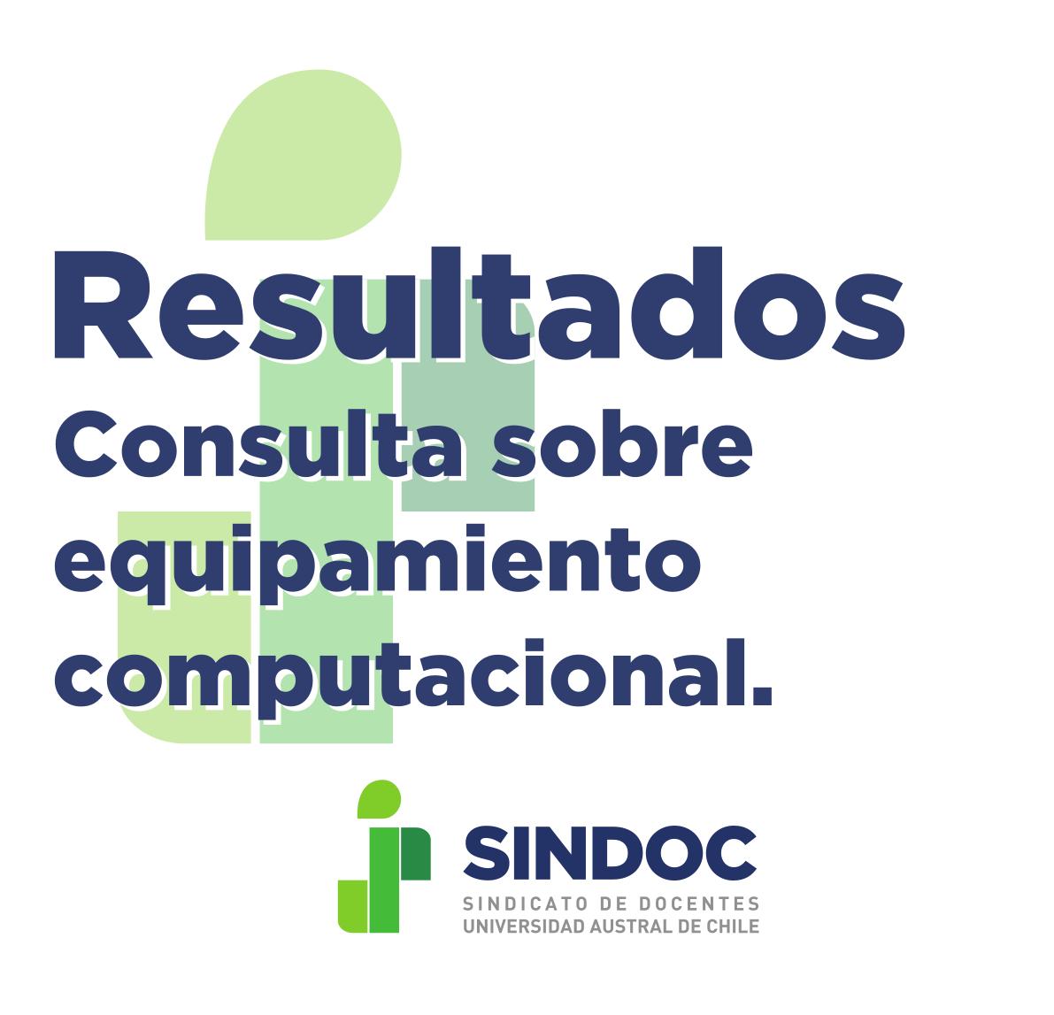 Resultados de Consulta SINDOC sobre equipamiento computacional para realizar labores de docencia a distancia.