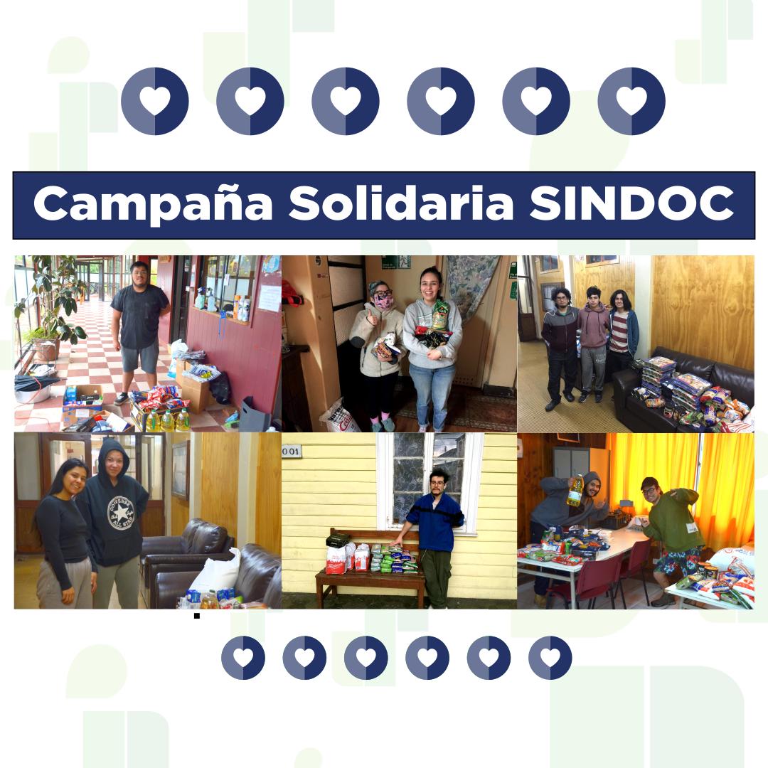 Campaña Solidaria SINDOC entregó apoyo directo a estudiantes UACh.
