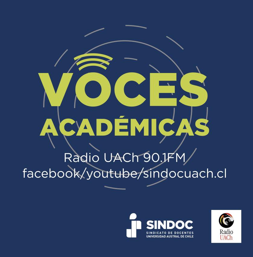 Este viernes a las 17.00hrs. regresa nuestro programa Voces Académicas.