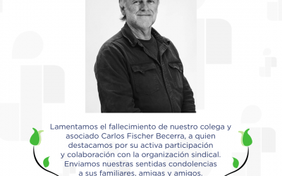 SINDOC lamenta el fallecimiento de Carlos Fischer Becerra.