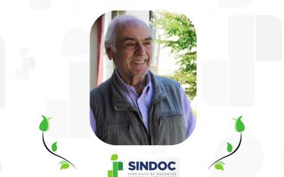 SINDOC UACh lamenta el fallecimiento de Claudio Donoso Zegers.