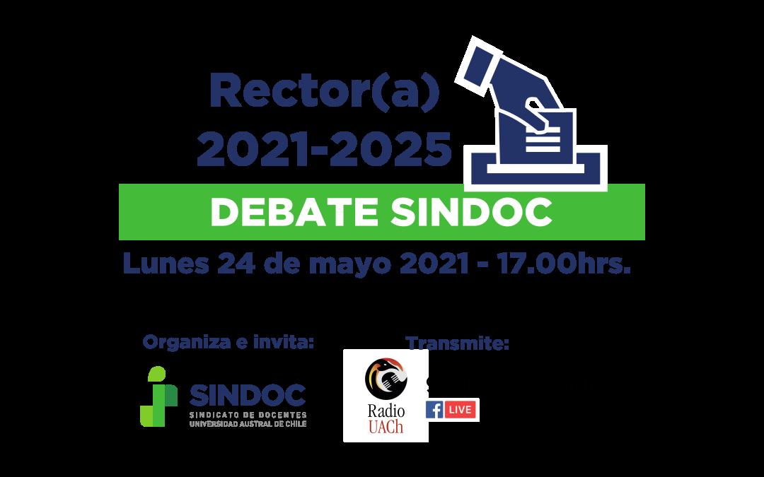 Postulantes a rector(a) de la UACh dialogarán en debate organizado por el SINDOC