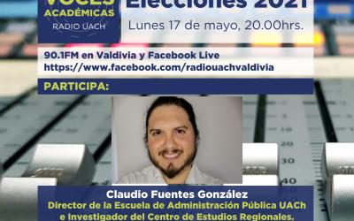 VOCES ACADÉMICAS / 17 de MAYO 2021: Participación en elecciones 2021.