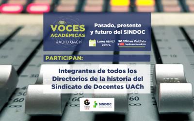 VOCES ACADÉMICAS 05 JULIO 2021: Junto a René Franjola (integrante del primer Directorio SINDOC)